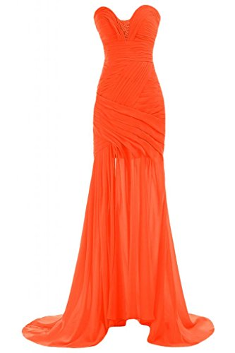 Sunvary Chic Sweetheart collo, da donna, per abiti da sera, Pageant Gowns Party Dress Arancione