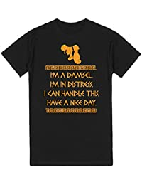 Skreened Men's I Can Handle This Hercules T-Shirt