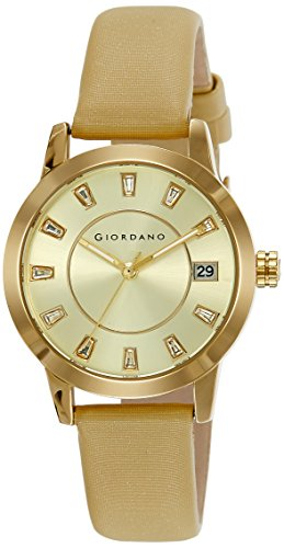 Giordano A2026-03 Analog Gold Dial Women's Watch image