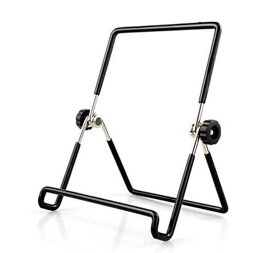 6SlonHy Universal Hohl Faltbare Durable Desktop Rotary Handy Tablet Halter Ständer Halterung Schwarz Groß -