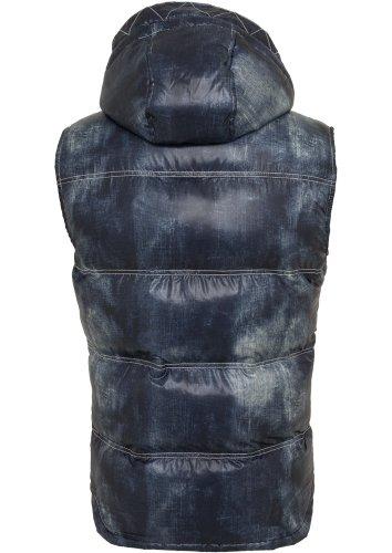 Urban classics vest to aspect jean-homme-coupe regular fit 567 Bleu - Bleu denim
