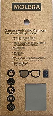 MOLBRA Gamuza Premium Microfibra Anti-Vaho - 12 Horas de Efecto y 300 Usos - Sin Líquidos Adicionales - Libre