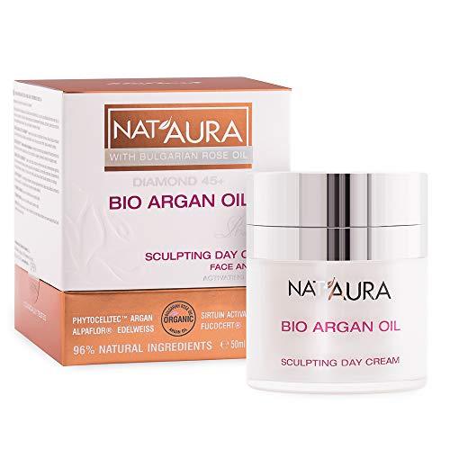 BioFresh NatAura Crème de jour 45+ avec huile de rose bio et huile d'argan organique 50 ml