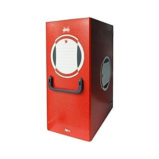 Arche 0263ro Aktendeckel portaprogetto mit Griff, Rücken 20, rot