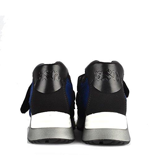 Ash Chaussures Lulu Noir et Saphir Baskets Femme Saphir/Noir