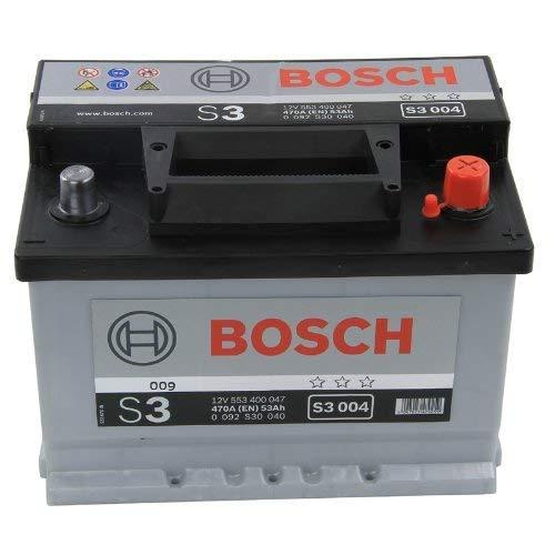 BOSCH S3 004 Batteria Auto 12V 53Ah 500A/EN