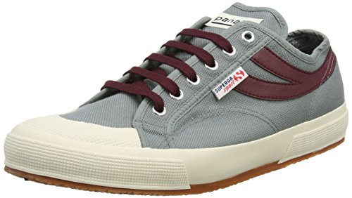 Superga 2750 Cotu Panatta, Sneaker Unisex – Adulto Grey (Grey Sage/Scarlet)