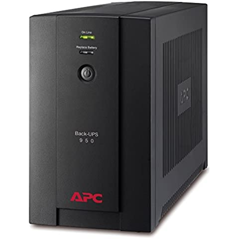 APC Back-UPS BX Gruppo di continuitàUPS 950VA BX950UI - AVR, 6 Uscite IEC-C13, USB, Shutdown Software
