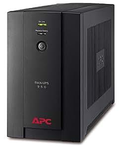 APC BY SCHNEIDER ELECTRIC APC Back-UPS BX 950 - Onduleur 950VA, BX950U-FR - AVR - 4 Prises FR, USB, Logiciel d'arrêt