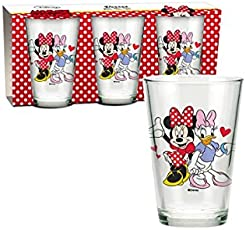 Minnie Mouse – Set 3 Gläser 23,7 cl (Suncity mid101143)
