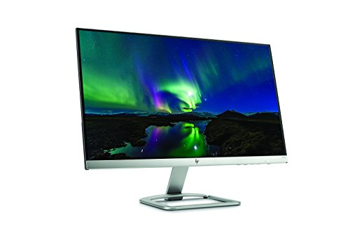HP 24es 24 inch LCD Monitor 1920 x 1080 Pixel extensive HD FHD IPS 7 ms HDMI VGA Black and Silver Monitors