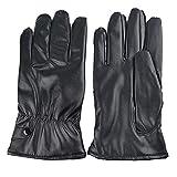 shape PU Radfahren Handschuhe Wasserdicht Touchscreen Winter Outdoor Unisex Bike Handschuhe Winddicht Thermische Handschuhe Schwarz