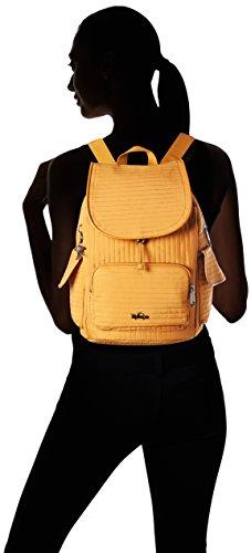Kipling City Pack S Rucksackhandtaschen Gelb (L43 Craft Ochre)
