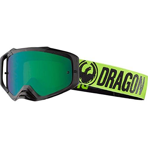 Drachen Pause Green Lumalens Grün ionisiertes + Clear MXV MAX MotoX Goggles