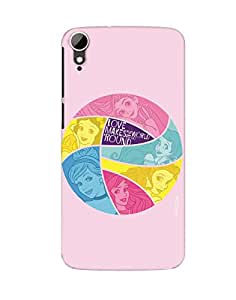 Pick pattern Back Cover for HTC Desire 828 dual sim