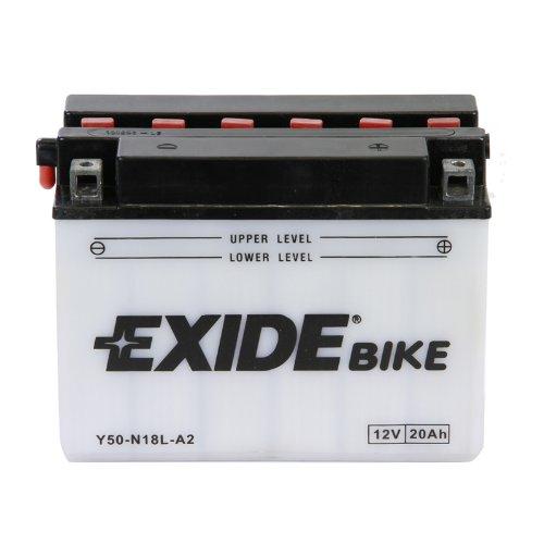 Exide Motorrad Batterie 12V 20Ah 200A Y50-N18L-A