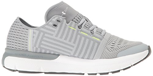 Under Armour Speedform Gemini 3 Womens Chaussure de Course À Pied - SS17 Overcast Gray/Steel/White