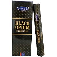 Räucherstäbchen Satya Black Opium 120 Sticks 6 Schachteln Wohnaccessoire Raumduft Deko preisvergleich bei billige-tabletten.eu