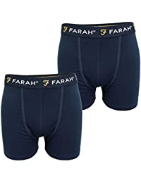 Farah Mens Boxer Shorts/Trunks (2-Pack)