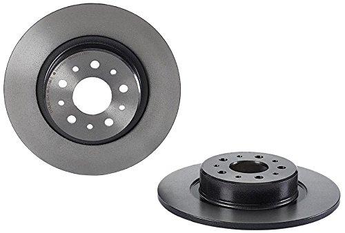 Preisvergleich Produktbild Brembo 08.7861.11 Hintere Bremsscheibe mit UV Lackierung,  Anzahl 2