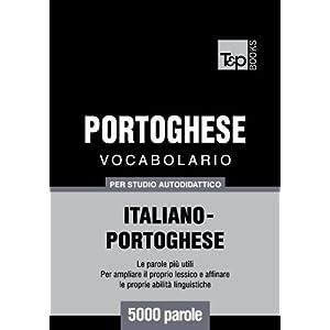 Vocabolario Italiano-Portoghese per studio autodid