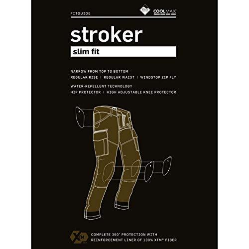 /in Fibra/ /Nero John Doe Stroker Pantaloni Cargo con XTM/
