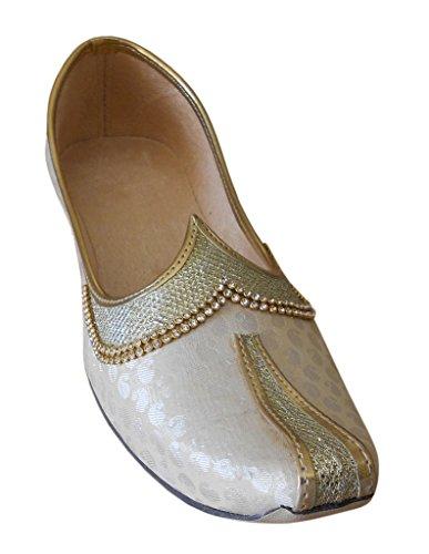Kalra Creations, Pantofole uomo Cream