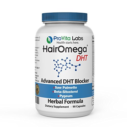 Dr. Formulas Hairomega Dht Blocker/Metabolism Support for Healthy Hair Growth, 1.5 Month Supply (Package May Vary)