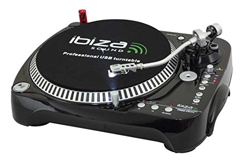 Giradischi dj hi-fi conversione vinile in mp3 usb sd pc