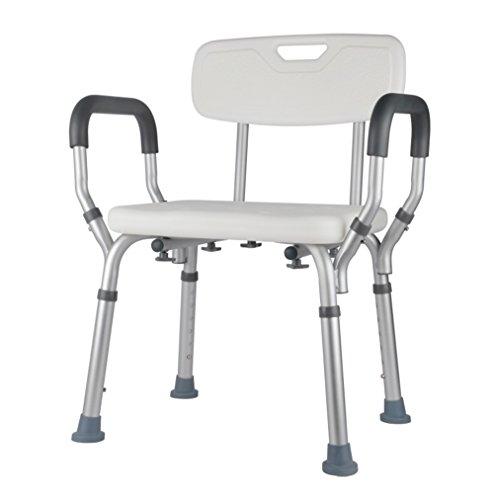 Badestühle für ältere Menschen, Duschstühle, Duschstühle für Behinderte, Duschstühle für Schwangere, rutschfester Badehocker aus Aluminium
