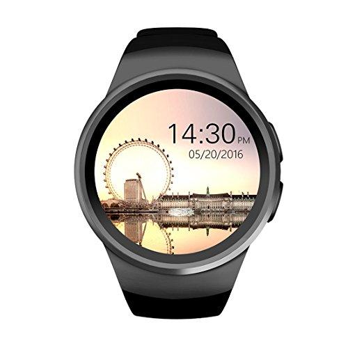 PINCHU KW18 Smart Watch Bluetooth Inteligent Smartwatch Support SIM Heart Rate Monitor Clock