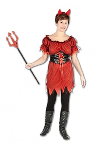 Damen Halloween Jessabess Kostüm EUR Onesize 36-42 (Onesize (36-42), ()