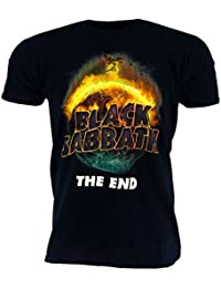 Black Sabbath The End Black T-Shirt Official Licensed Music