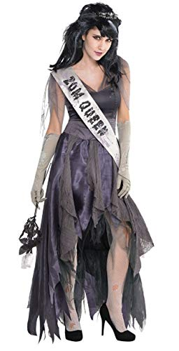 Fancy Me Damen Leichnam Zombie Homecoming Prom Gruselig Halloween Kostüm Outfit UK 8-16 - UK 10-12