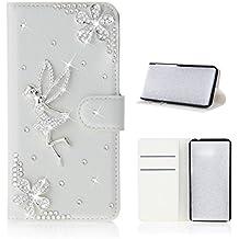 Samsung Galaxy S8 Active Case, Danallc [ Portable Wallet ] [ Slim Fit ] Heavy Duty Protective Boys Flip Cover Wallet Case for Samsung Galaxy S8 Active - Angel Girl