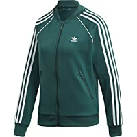 adidas Sst Tt Felpa, Donna, Verde (Collegiate Green), 42