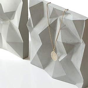 Atelier Ideco – Bergförmigen Schmuckständer – Beton Halskette Oder Armband Halter