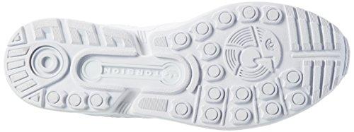 adidas Zx Flux, Sneakers Basses Mixte Adulte Blanc (Ftwr White/Ftwr White/Core Black)