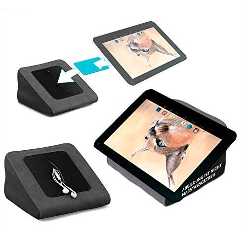 reboon Tablet Kissen für das Blaupunkt Endeavour 1001 DVBT - ideale iPad Halterung, Tablet Halter, eBook-Reader Halter für Bett & Couch