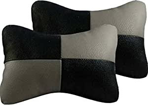 Rediant AIR00CT42 Car Seat Neck Cushions (Set of 2, Multicolour)