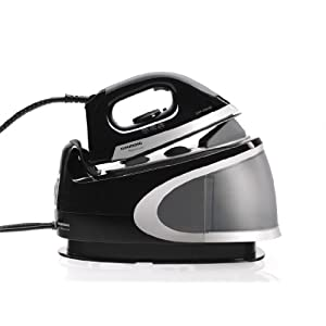 Grundig SIS 8250 Premium-Dampfbügelstation (4,5 bar, 2400 Watt), schwarz-silber