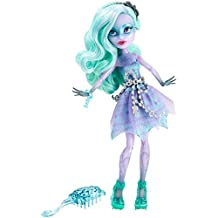 Monster High Haunted Getting Fantasmal Twyla Muñeca, Modelo: CDC28, Toys & Gaems
