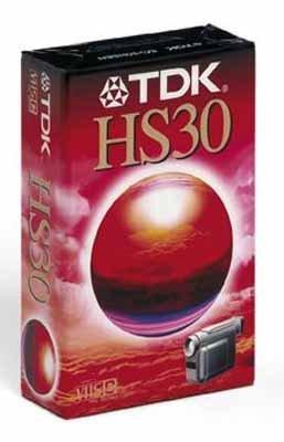 TDK EC-30 HSEN VHS-C Video-Kassette