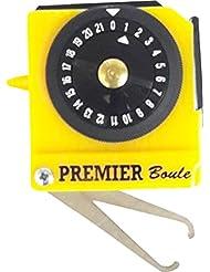 Henselite Bowl Sport Accessory Ball Measure Tape Bowls Measure Premier Yellow by Henselite