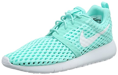 Nike Unisex-Kinder Roshe One Flight Weight (Gs) Low-Top Turquesa (Turquesa (Hyper Turq / White))