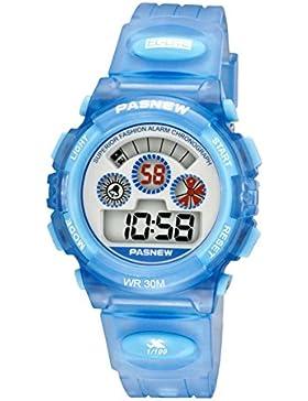 Kinder watch electronic outdoor sports running wasserdicht-B