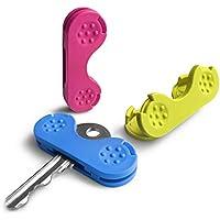 Tres giradores de llaves. Galardonada ayuda para girar las llaves. Coge, sujeta y gíralas fácilmente. Popular ayuda de movilidad para ancianos con Artritis, EM o con poco agarre y fuerza manual.