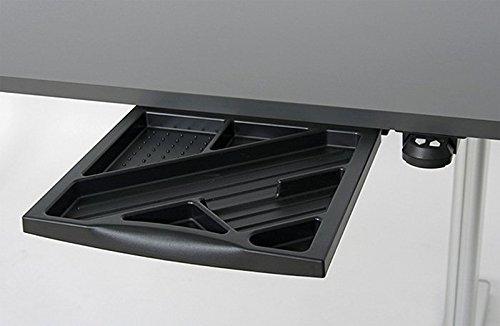 Höhenverstellbarer Schreibtisch in Anthrazit Ergonomisch Elektrisch B 180 cm x T 80 cm Bürotisch Arbeitstisch - 9