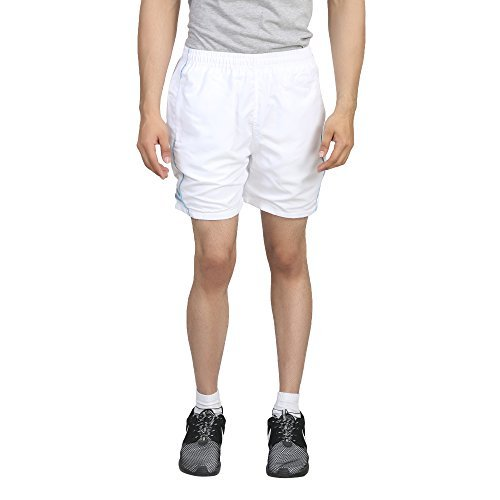 Trendy Trotters Men's Sports Shorts-TTJ1SHORTS_AD_WHITE_BLU_L