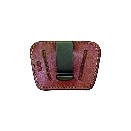 PS Produkte hl036brn Made in USA Heimatland Concealment Belt Slide Holster mit abnehmbarem clip-small/braun, braun, klein (Holster Slide Belt)